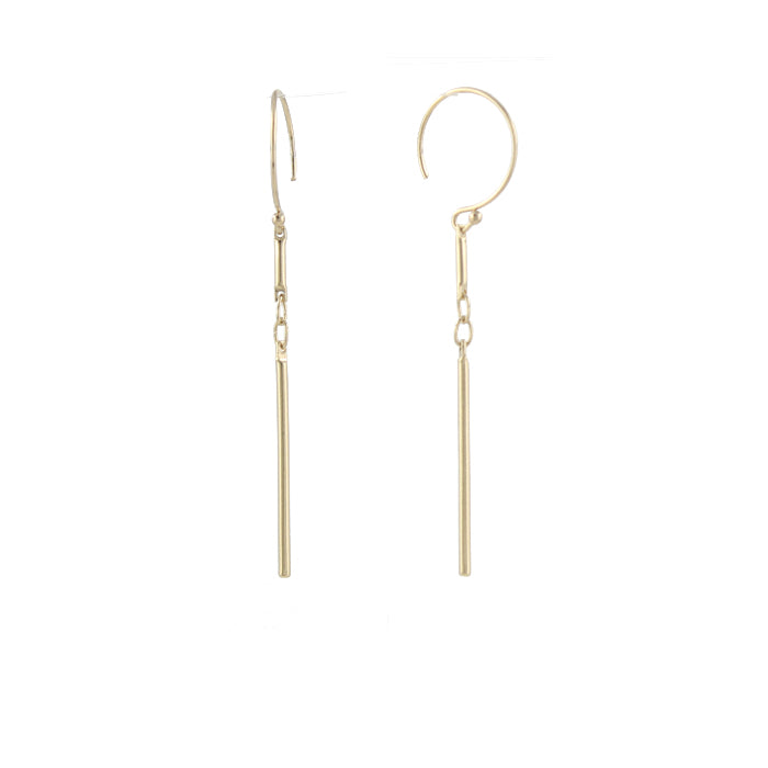 Two-Part Dangle Earrings
