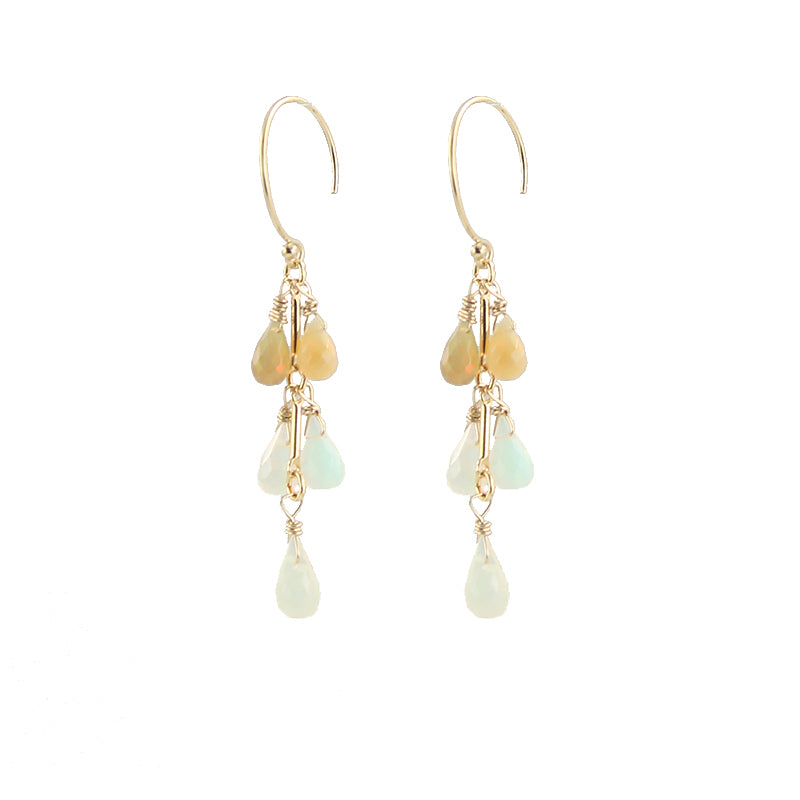 Ombre Opals Earrings