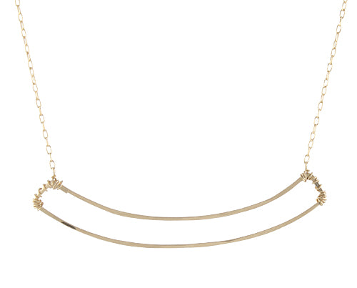 Open Arc Necklace