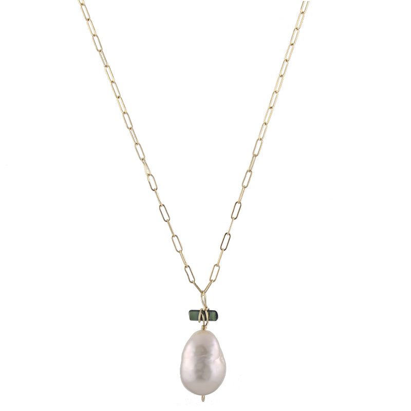 Plush Pearl Necklace