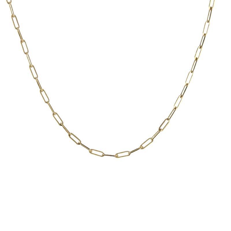 Rectangle Chain Necklace