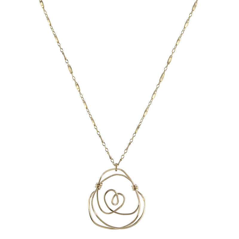 Santa Rosa Rosette Necklace