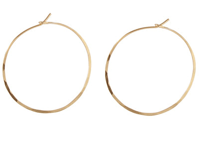 Delicate Hoop earrings in 14k gold-filled