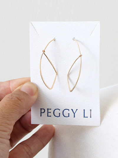 Sail Earrings by Peggy Li