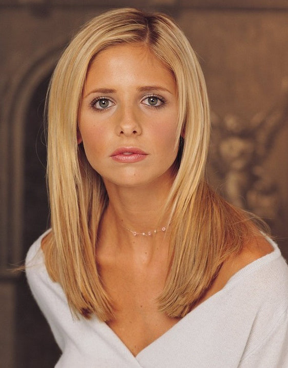 Buffy the Vampire Slayer Illusion Necklace in pinks