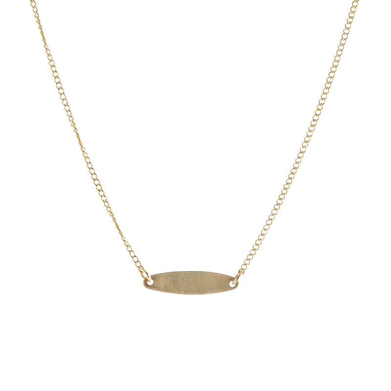 Slim ID Necklace
