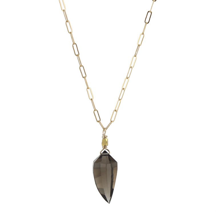 Smoky Talisman Necklace