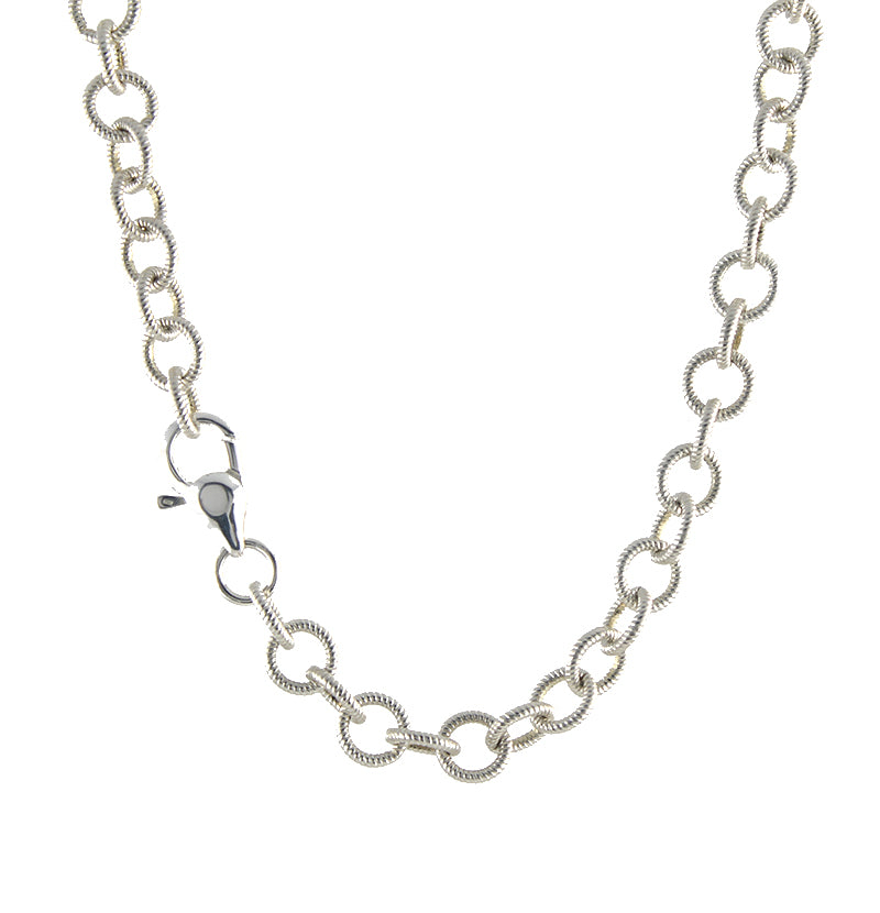 Round Rope Chain Necklace