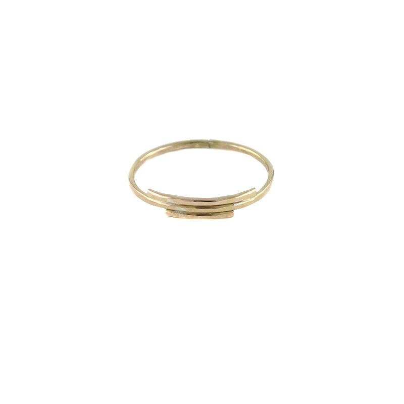 Deco Stacked Ring