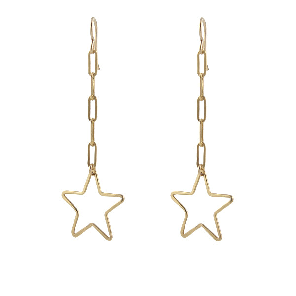 Shooting Star Earrings, small