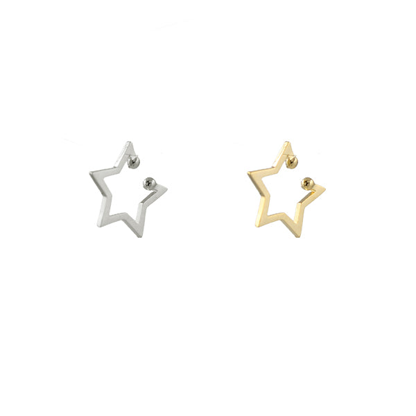 Superstar Star Ear Cuff