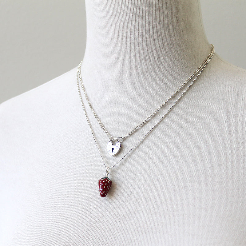 Strawberry Bliss Necklace