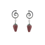 Strawberry Swirl Earrings