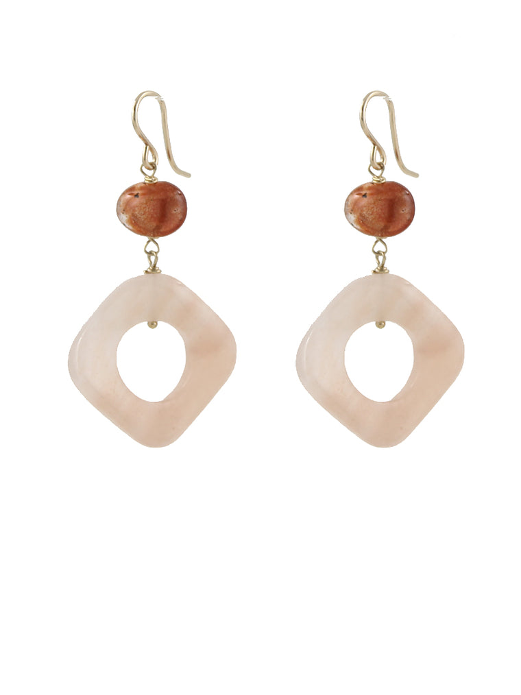 Peachy Sunshine Earrings