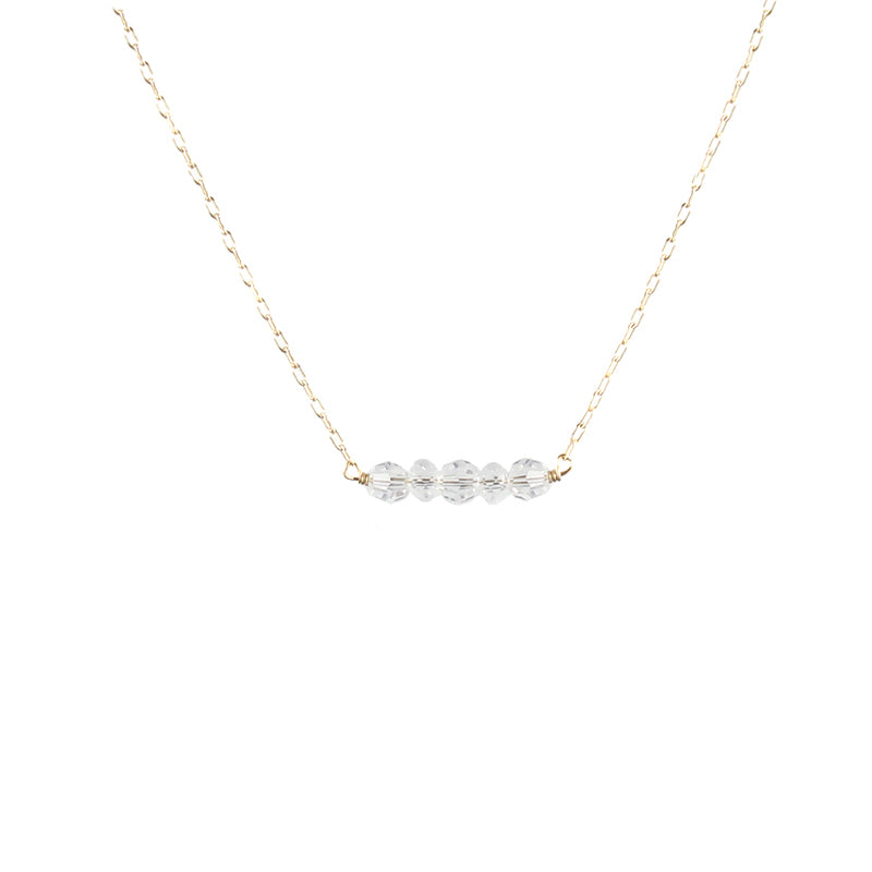 Swarovski Slice Necklace