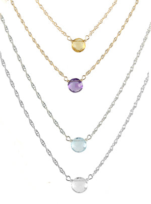 Tiny Bubble Necklace colors