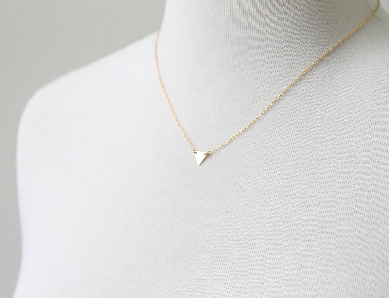 Single Triangle Necklace seen on Riverdale