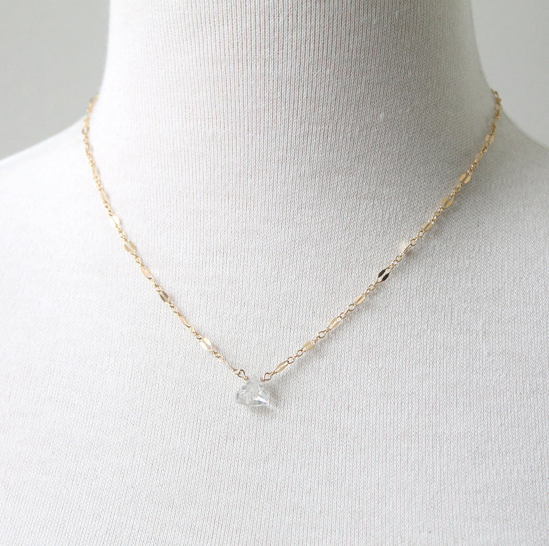 Quartz Starlight Necklace by Peggy Li
