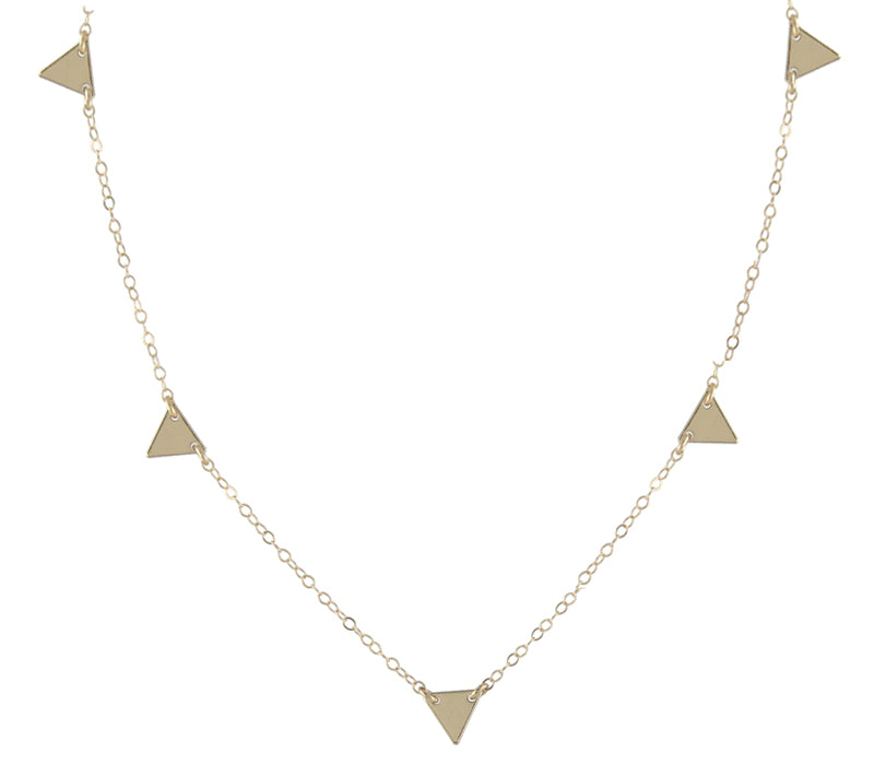Triangles Chain Necklace