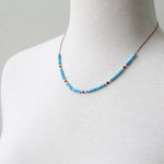 Turquoise Silks Necklace