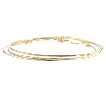 Twisted Bangle Bracelets