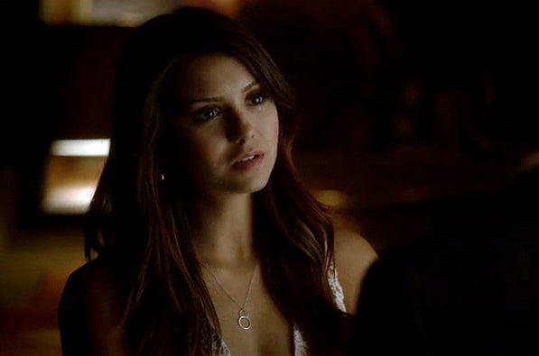 Elena Gilbert infinity charm The Vampire Diaries