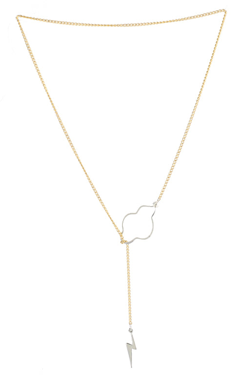 Lucy Liu Cloud Necklace Elementary
