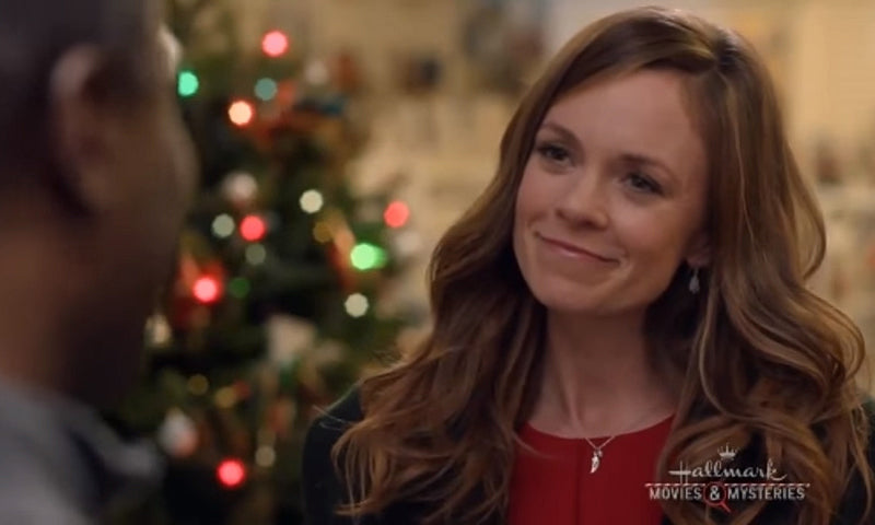 Rachel Boston wing pendant necklace Christmas in Angel Falls