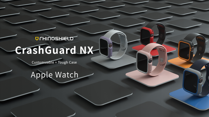 Rhino Shield CrashGuard NX 模組化防摔邊框殼 - Apple Watch