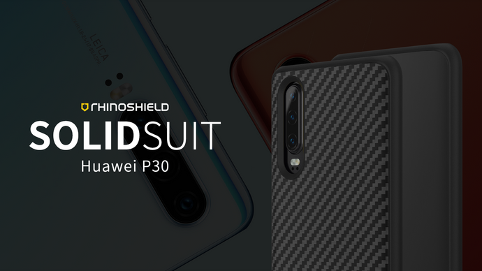 Rhino Shield SOLIDSUIT 手機保護殼 - HUAWEI P30