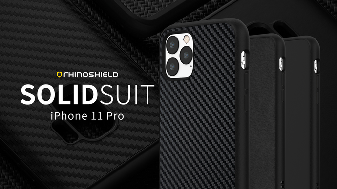 Rhino Shield SOLIDSUIT 手機保護殼 - iPhone 11 Pro