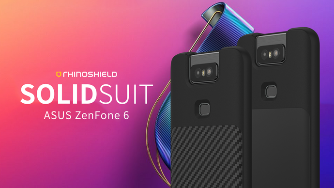 Rhino Shield SOLIDSUIT 手機保護殼 - ASUS ZenFone 6