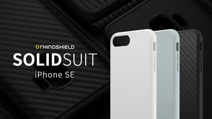 Rhino Shield SOLIDSUIT 手機保護殼 - iPhone SE (2020)