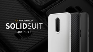 Rhino Shield SOLIDSUIT 手機保護殼 - OnePlus 6