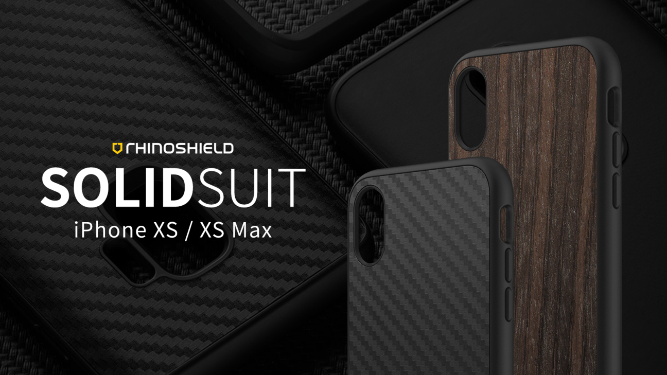 Rhino Shield SOLIDSUIT 手機保護殼 - iPhone Xs / Xs Max
