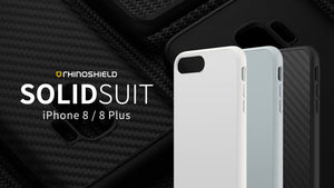 Rhino Shield SOLIDSUIT 手機保護殼 - iPhone 8 / 7