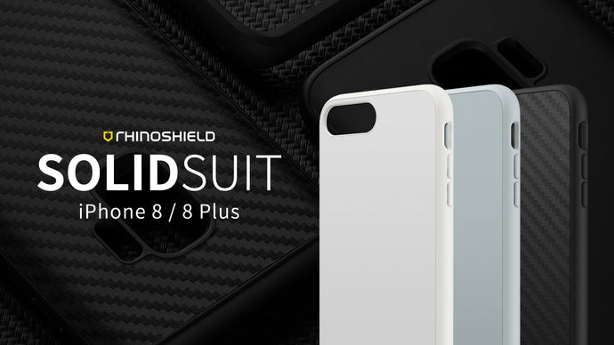 Rhino Shield SOLIDSUIT 手機保護殼 - iPhone 8 Plus / 7 Plus