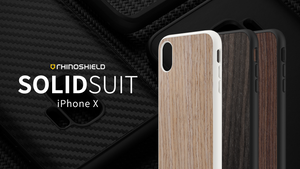Rhino Shield SOLIDSUIT 手機保護殼 - iPhone X