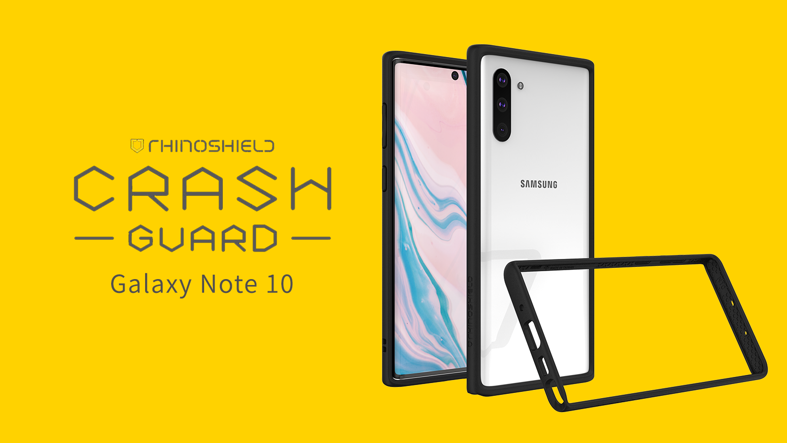Rhino Shield CrashGuard 三米防跌手機保護殼 - Samsung Galaxy Note 10