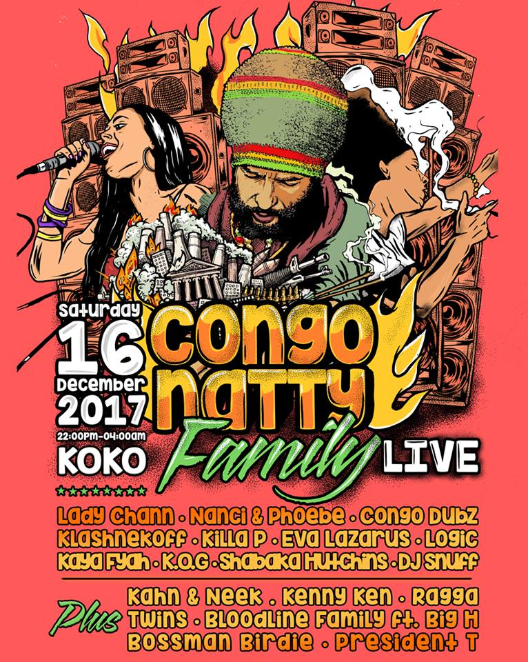 Congo Natty Family Live @ KOKO London - 16.12.18
