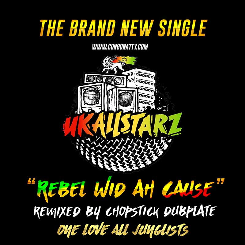 Uk All Starz - Rebel Wid Ah Cause - DJ Bundle