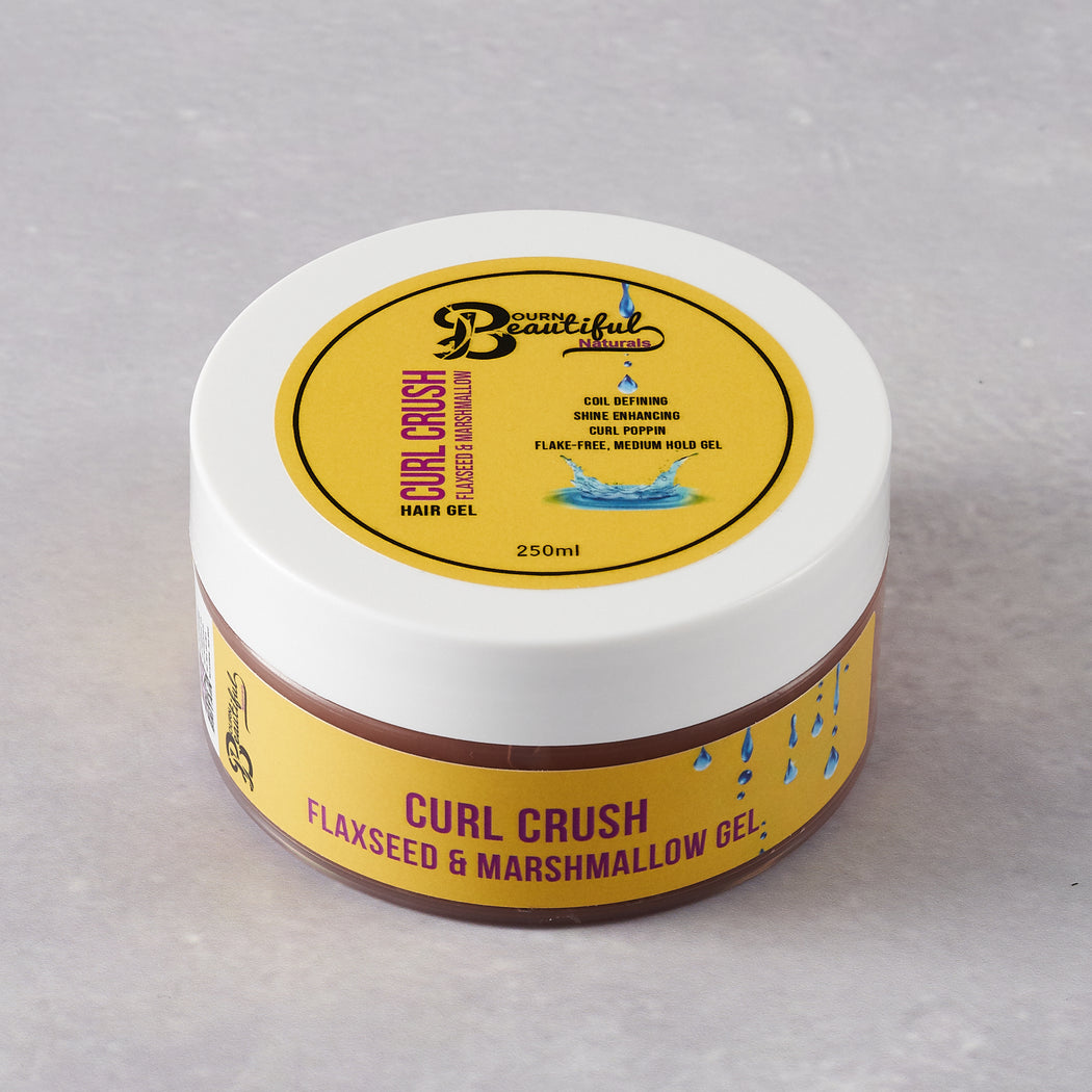 Bourn Beautiful Naturals Curl Crush Flaxseed and Marshmallow Gel