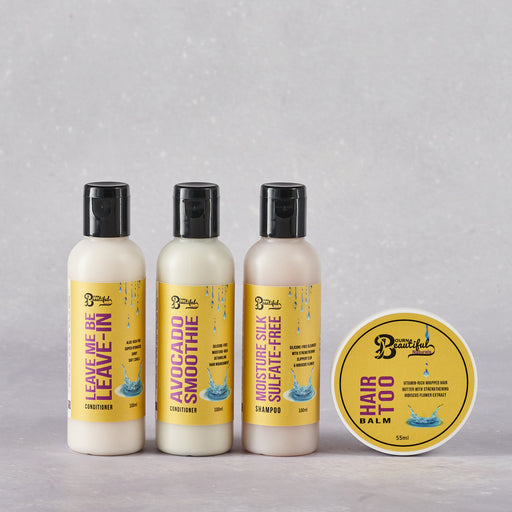 Bourn Beautiful Naturals Wash Day Essentials Kit