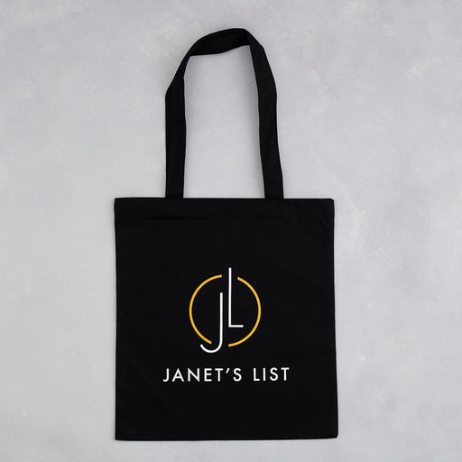 Janet's List, Tote bag