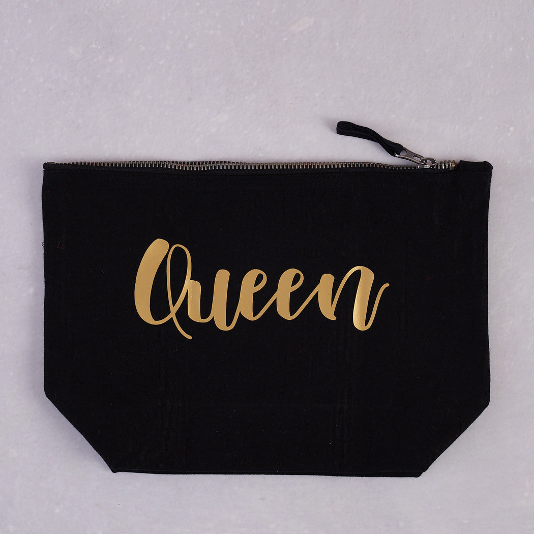 AfroTouch Design, Phenomenal Queen Canvas Pouch