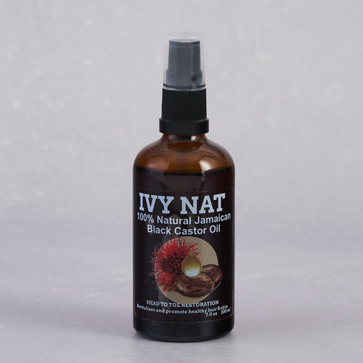 Ivy Nat, 100% Natural Jamaican Black Castor Oil