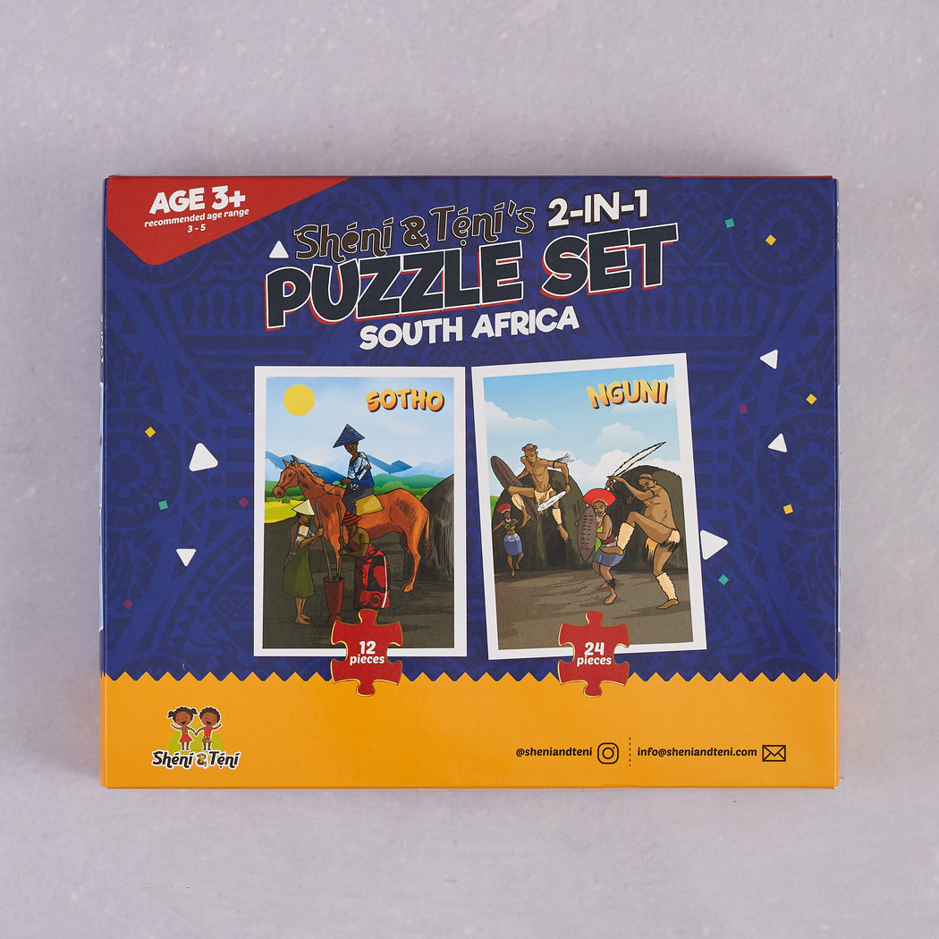Sheni and Teni, 2-in-1 Puzzle Set (South Africa)