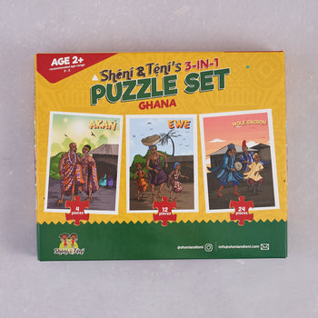 Sheni and Teni, 3-in-1 Puzzle Set (Ghana)