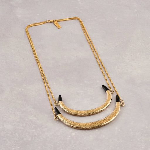 Yala Jewellery Ambira Double Chain Necklace