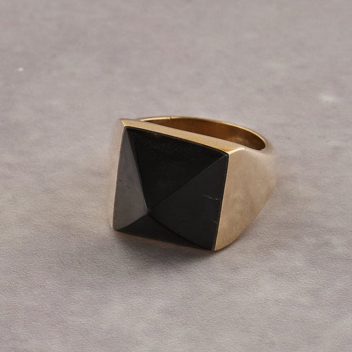 Yala Jewellery Aneko Pyramid Ring - pre order only